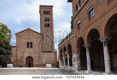 Basilica Of San Francesco In Ravenna City