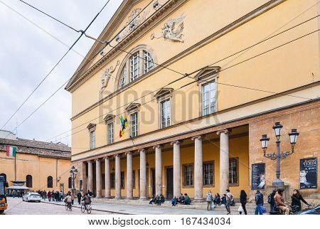 Opera House Teatro Regio Di Parma