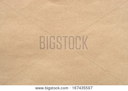 Kraft Paper Texture with horizontal stripes for background
