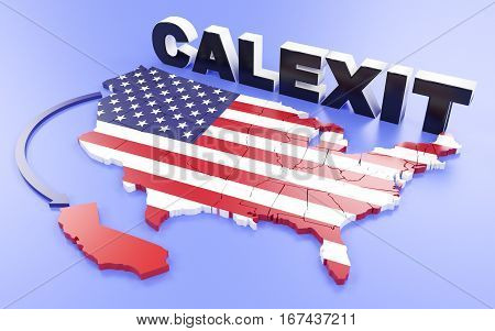 California Want's To Leave The Usa