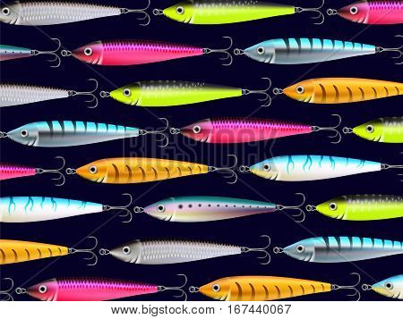 Fishing Lures Background Hooks Wallpaper 2