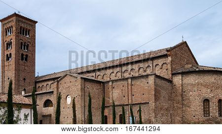 St Francis Basilica In Ravenna