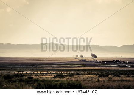 The Very Large Array a radio telescope facility in New Mexico
