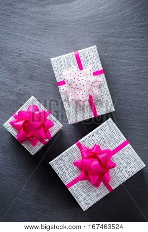 Valentines Day Holiday Love Gift Boxes Background