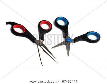 scissors. scissors on background. scissors on a background