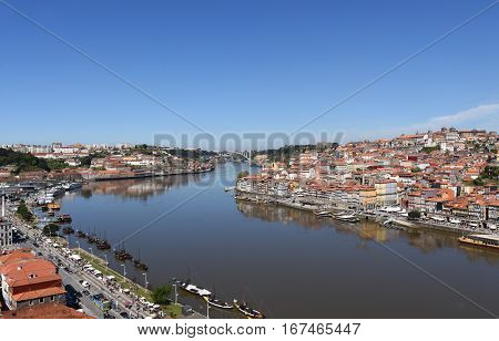 Oporto and Vila Nova de Gaia Portugal