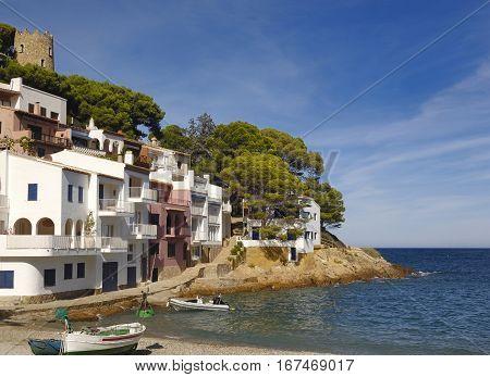 Sa tuna beach in Begur Costa Brava Girona ProvinceSpain