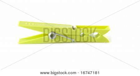 Green Clothespeg