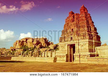 Vittala Temple In Hampi, Karnataka Province
