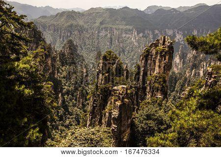 Zhangjiajie Karst Pillars