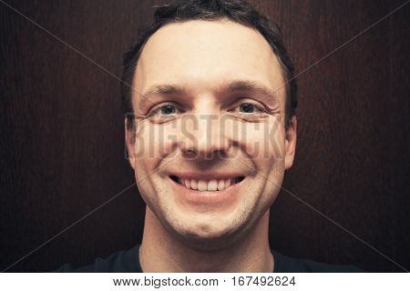 Young Handsome Smiling Caucasian Man