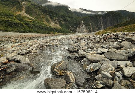 Fox Glacier, New Zealand Landscape