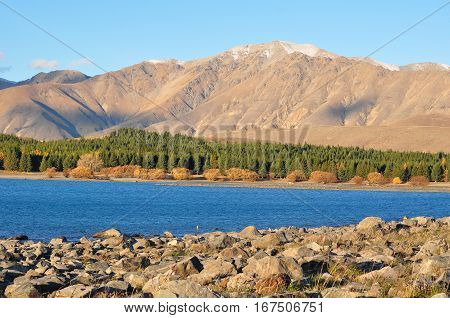 Lake Tekapo , New Zealand Beautiful Landscape