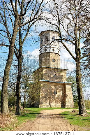old lookout tower Babylon, Czech Republic, Europe