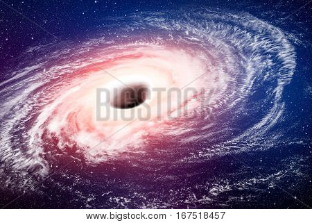 hole black space way fiction hydrogen nebula galaxy white earth cloud cosmic atmosphere explosion meteorite deep star concept - stock image. Elements of this image furnished by NASA.