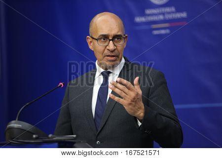 Harlem Desir, French Secretary Of State For European Affairs