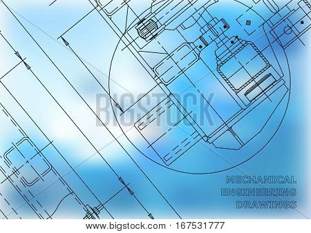 Mechanical Engineering drawing. Mechanical Engineering Blueprints. Mechanics