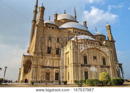 Muhammad Ali Mosque in  the Cairo Citadel, Cairo Egypt
