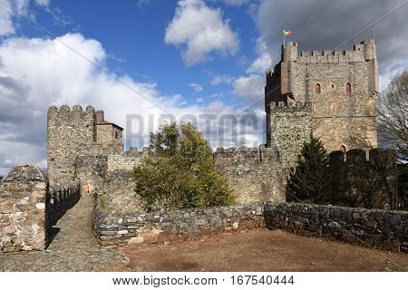 Castle of Braganca Tras os Montes Portugal