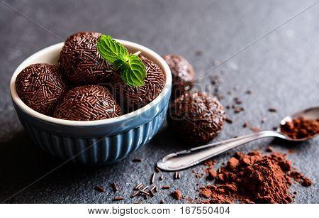 Brigadeiro - Traditional Brazilian Chocolate Delicacy