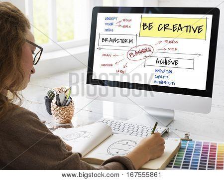 Creativity Chart Diagram Analysis Icon