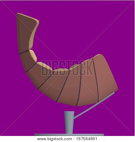 Modern Armchair Vector 29.eps