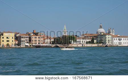 Giudecca Canal In Venice