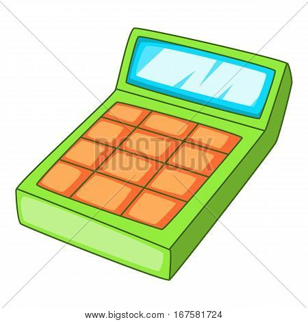 Calculation icon. Cartoon illustration of calculation vector icon for web