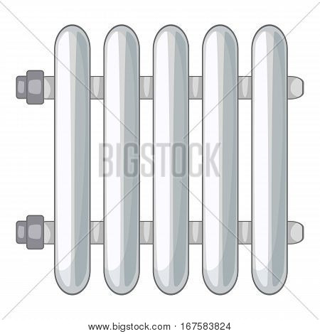 Radiator icon. Cartoon illustration of radiator vector icon for web