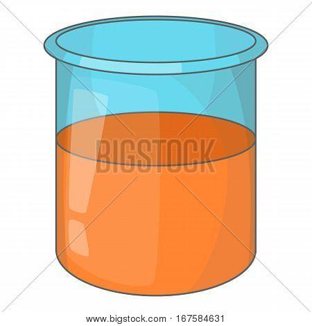 Glass jar icon. Cartoon illustration of glass jar vector icon for web