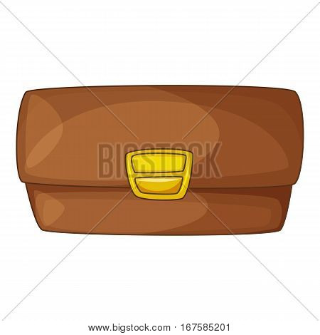 Small bag icon. Cartoon illustration of small bag vector icon for web