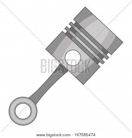 Piston icon. Cartoon illustration of piston vector icon for web