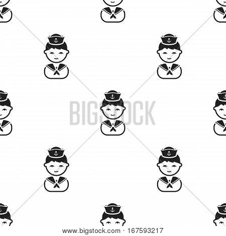 Builder black icon. Illustration for web and mobile. - stock vector