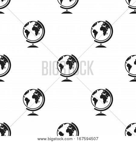 Gobe icon black. Single education icon from the big school, university black. - stock vector