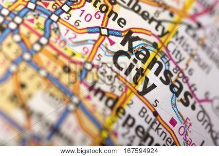 Kansas City, Missouri On Map