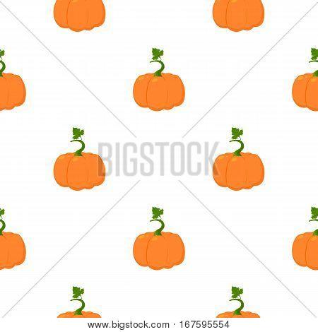 Pumpkin icon cartoon. Single plant icon from the big farm, garden, agriculture cartoon. - stock vector