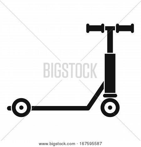 Scooter icon. Simple illustration of scooter vector icon for web