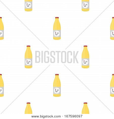 Drain cleaner icon in cartoon style isolated on white background. Plumbing pattern vector illustration. - stock vector