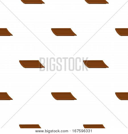 Plate icon in cartoon style isolated on white background. Sushi pattern vector illustration. - stock vector