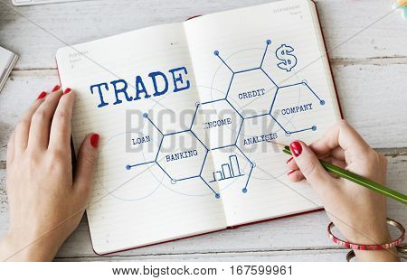 Finance Business Trade Economy Graph
