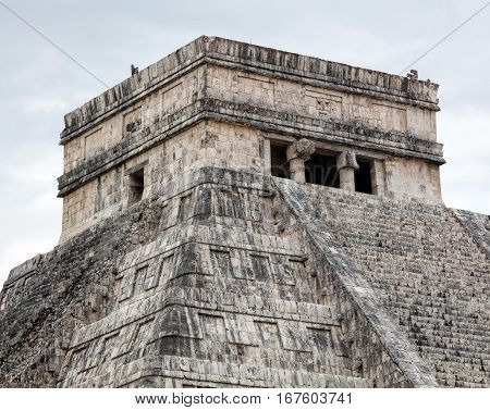 El Castillo Pyramid In Chichen Itza