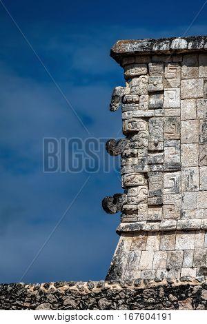 Masks Of Chac, The Ancient Mayan God Of Rain