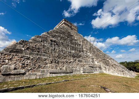 El Castillo Pyramid In Chichen Itza