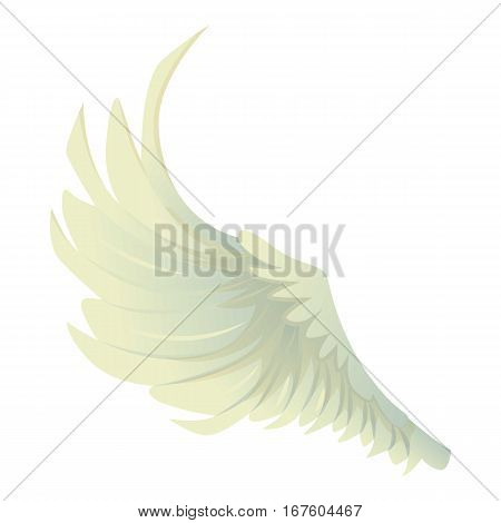 Big wing icon. Cartoon illustration of big wing vector icon for web