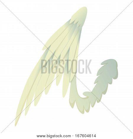 Bird wing icon. Cartoon illustration of bird wing vector icon for web