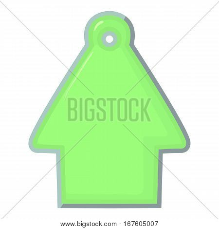 House tag icon. Cartoon illustration of house tag vector icon for web
