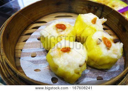 Chinese Shrimp Dim Sum Dumpling