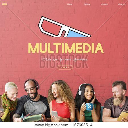 Cinema Movies Theatre Media Concept