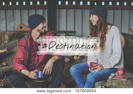 Adventure Destination Discover Expedition Icon