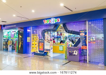 KUALA LUMPUR, MALAYSIA -  January 29, 2017: Toys